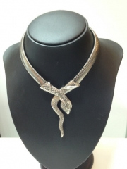 Vintage Clothing Necklace