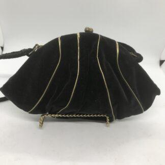 BLACK SUEDE BAG