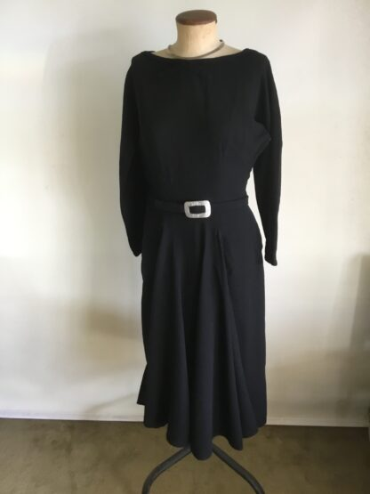50S WOOL CREPE DRESS