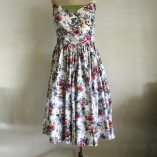 1960'S SRAPLESS DRESS